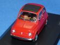 ミニチャンプス 1/43 フィアット 500 1965 (レッド)