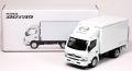TOYEAST製 (日野自動車 特注) 3インチモデル 日野 デュトロ パネルバン&冷凍車 2台セット