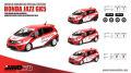 """イノモデル (インドネシア限定) 1/64 ホンダ Jazz (GK5) """"Team Honda Racing Indonesia"""" 2015 (デカール&交換用ホイール付)"""