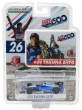 グリーンライト 1/64 Indy Car Andretti Autosports 2017 インディ 500 優勝 No.26 佐藤琢磨