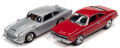 ジョニーライトニング 1/64 007 ジェームスボンド 1964 アストンマーチン DB5 & 007 ジェームスボンド 1974 AMC ホーネット 2台セット