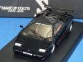 アイドロン 1/43 ケーニッヒ ランボルギーニ カウンタック LP500S ツインターボ 1985 タイプ3 (ブラックメタ)
