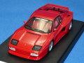 アイドロン 1/43 ケーニッヒ フェラーリ テスタロッサ ツインターボ 710ps 1985 (レッド) OZホイール