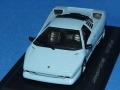 ホワイトボックス 1/43 ランボルギーニ P132 プロトタイプ 1986 (ライトブルー)