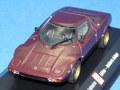 ミニチャンプス製 (AutoBild 特注) 1/43 ランチア ストラトス (ワインレッド) 限定750台
