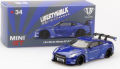 MiniGT (北米限定/Mijo特注) 1/64 LB☆WORKS ニッサン GT-R (R35) Type 1 RearWing Ver.1 (キャンディブルー) LHD
