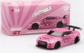 MiniGT (マレーシア限定) 1/64 LB☆WORKS ニッサン GT-R (R35) Type 1 RearWing Ver.1 (ウェアイットピンク) RHD