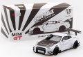 MiniGT 1/64 LB☆WORKS ニッサン GT-R (R35) Type 2 RearWing Ver.3 (ホワイト) LHD