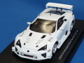 エブロ 1/43 レクサス LFA 2012 24h ニュル テストカー (ホワイト)
