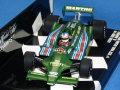 ミニチャンプス 1/43 ロータス フォード 79 チーム・ロータス N.マンセル F1 初テストドライブ ポールリカール 1979年11月 No.1