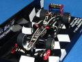 ミニチャンプス 1/43 ロータス F1 チーム ルノー E20 2012 バーレーンGP 初表彰台 No.9 K.ライコネン