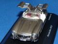 シュコー 1/43 メルセデスベンツ 300SL ガルウイング (パールグレー)