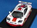 ミラージュ 1/43 マクラーレン F1 GTR 1995 24h ル・マン No.49 WEST FM