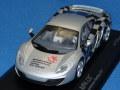 ミニチャンプス製 (トイフェア2012 限定) 1/43 マクラーレン MP4-12C 2011 (シルバー) 限定576台