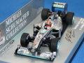 ミニチャンプス 1/43 メルセデス GP ペトロナス MGP W01 2010 No.3 M.シューマッハ