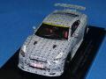 エブロ 1/43 ニッサン GT-R ニスモ 2013 ニュルブルクリンク タイムアタック (ホワイト/ブラック)