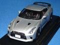 カーネル 1/43 ニッサン GT-R (R35) Track Edition engineered by nismo 2017 (アルティメイトメタルシルバー) 限定300台