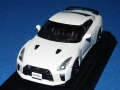 カーネル 1/43 ニッサン GT-R (R35) Track Edition engineered by nismo 2017 (ブリリアントホワイトパール) 限定500台