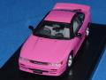 ハイストーリー (LG55 特注) 1/43 ニッサン シルエイティ 1998 (ピンク) クリアカバー付