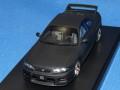 hpi-racing (MTS24&アド コラボモデル) 1/43 ニッサン スカイライン GT-R (R33) Vスペック N1 (マットブラック)