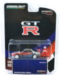 ターマック (グリーンライト) 1/64 ニッサン スカイライン GT-R (R34) Loctite 1999 No.23 フィギュア付 (ChaseCar)