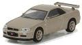 グリーンライト (TokyoTorque Series1) 1/64 ニッサン スカイライン GT-R R34 M-spec 2001 (シリカブレス)
