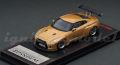 イグニッション 1/64 PANDEM R35 GT-R (ゴールド)