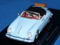 トゥルースケール 1/43 ポルシェ 356 スピードスター (ライトブルー) ラゲッジ付