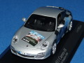 ミニチャンプス製 (IAA2009 限定) 1/43 ポルシェ 911 カレラ 4S 2008 (シルバー) IAA Frankfurt 2009 限定500台