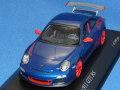 ミニチャンプス (欧州限定) 1/43 ポルシェ 911 (997/II) GT3RS 2010 (ブルーメタ) 限定999台