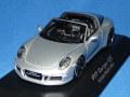 スパーク製 (ミュージアム特注) 1/43 ポルシェ 911 タルガ 4S (GB Mayfair Edition) 2015 (シルバーメタ) 限定500台
