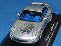 ミニチャンプス製 (ポルシェ・クラブ2014 特注) 1/43 ポルシェ 911 ターボ 2010 (シルバー/ゴールド) VIP 限定24台
