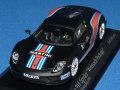 ミニチャンプス 1/43 ポルシェ 918 スパイダー バイザッハ パッケージ 2015 マルティニ ストライプ No.15 (2013 ニュル ラップレコード)