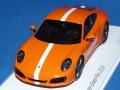 スパーク製 (ポルシェ・テニスグランプリ 2016 特注) 1/43 ポルシェ 911 (991/II) カレラ S (オレンジ) 限定500台