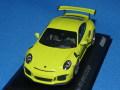 ミニチャンプス製 (car.tima 特注) 1/43 ポルシェ 911 (991) GT3 RS (ライトグリーン) 限定300台