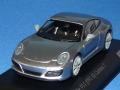 ミニチャンプス製 (car.tima 特注) 1/43 ポルシェ 911 (991/II) カレラ T (GTシルバー) 限定100台