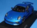 スパーク製 (ポルシェ 特注) 1/43 ポルシェ 911 (991/II) GT3 (サファイヤブルーメタ) 限定500台