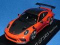 ミニチャンプス製 (ディーラー特注) 1/43 ポルシェ 911 (991/II) GT3 RS バイザッハ パッケージ (ラヴァオレンジ)