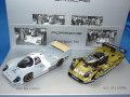 ミニチャンプス製 (ディーラー特注) 1/43 ポルシェ 956KH 1982 + ポルシェ 911 GT1 1998 2台セット