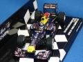 ミニチャンプス 1/43 レッドブル レーシング ルノー RB7 2011 日本GP ワールドチャンピオン No.1 S.ベッテル