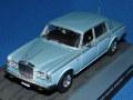 イクソ製 1/43 ロールスロイス シルバーシャドウ II 1961 (ライトブルー) 007 ジェームスボンド・コレクション No.107