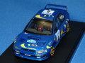 hpi-racing 1/43 スバル インプレッサ WRC 1997 スウェディッシュ・ラリー No.4
