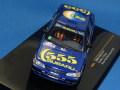 イクソ 1/43 スバル レガシィ RS 1993 ニュージーランド・ラリー 優勝 No.7 555カラー