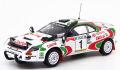 PopRace 1/64 トヨタ セリカ GT-Four (ST185) 1993 サファリラリー 優勝 No.1 J.カンクネン