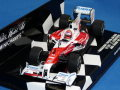 ミニチャンプス 1/43 パナソニック トヨタ レーシング TF109 2009 アブダビGP No.10 小林可夢偉