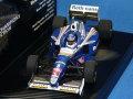 ミニチャンプス 1/43 ウイリアムズ ルノー FW19 1997 ワールド・チャンピオン No.3 J.ヴィルヌーヴ (ロスマンズ)