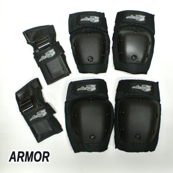 ARMOR/アーマー 3500 COMBO PACK SMALL (KNEE、ELBOW、WRIST) スケートボード用 プロテクター スケボー SK8 [返品、交換及びキャンセル不可]