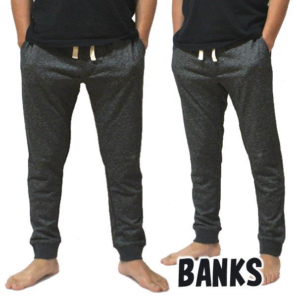 BANKS/バンクス PRIMARY TRACKSUIT PANT メンズ スウェットパンツ DIRTY DENIM ボトムス トラックパンツ ロングパンツ 0084  [返品、交換及びキャンセル不可]
