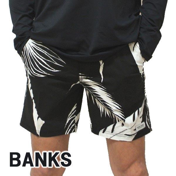BANKS/バンクス PRODUCE BOARDSHORTS DIRTY BLACK 男性用 サーフパンツ ボードショーツ サーフトランクス 海パン 水着 メンズ BSE0227[返品、キャンセル不可]
