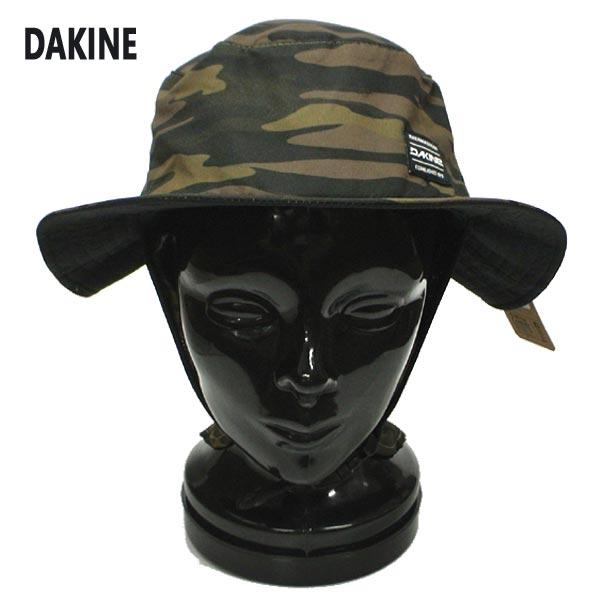 DAKINE/ダカイン INDO SURF HAT FIELD CAMO サーフハット 帽子 日よけ付き 迷彩 カモ柄